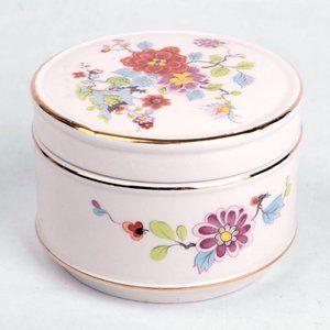 Vintage Sadler England Trinket Jewellery Box